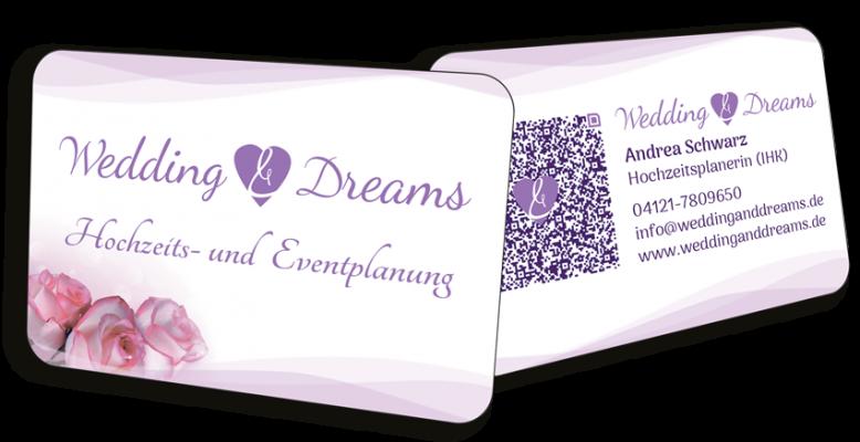Visitenkarten - Wedding & Dreams