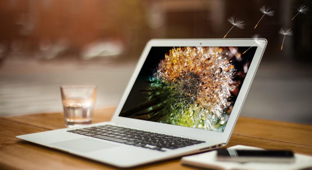 Aeritell flexibles innovatives Webdesign